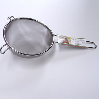 画像:ミレットストレーナー(雑穀洗い) 直径16×高さ6cm
