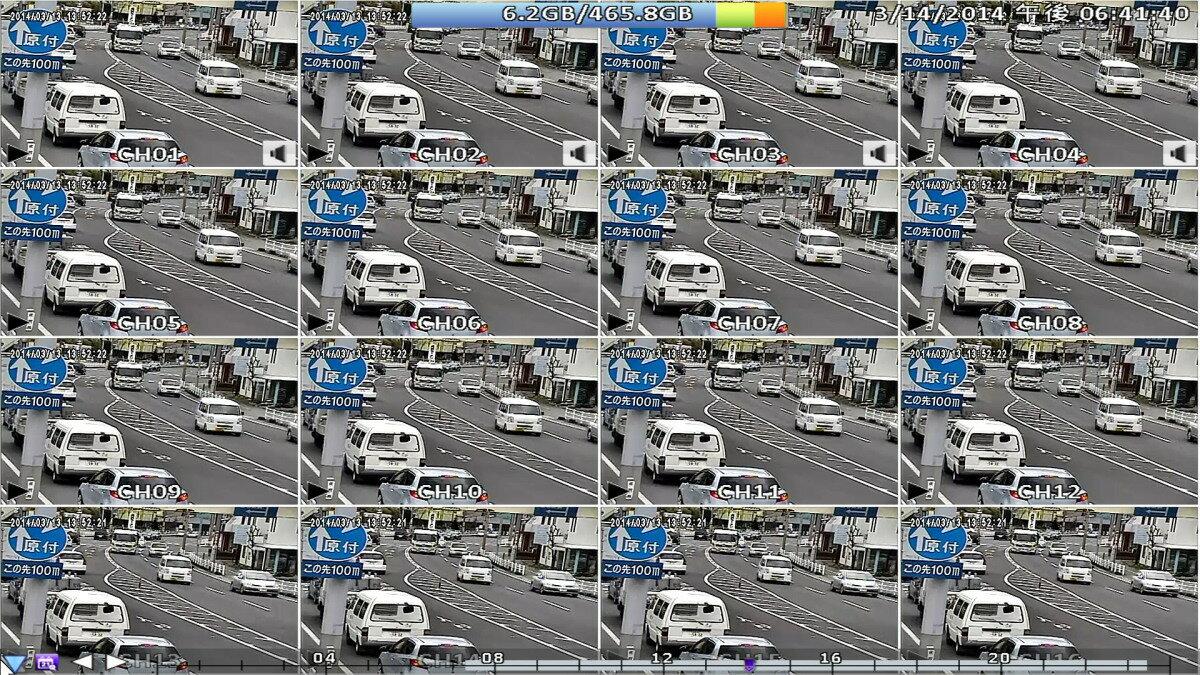 防犯カメラ・監視カメラ用録画機 デジタルビデオレコーダー