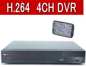 4CH防犯カメラ用録画機DVR
