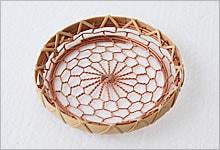 コースター 銅×竹|銅