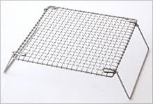 足付焼網 ステンレス|正方形
