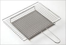 手付焼網(受け付) ステンレス|大・長方形