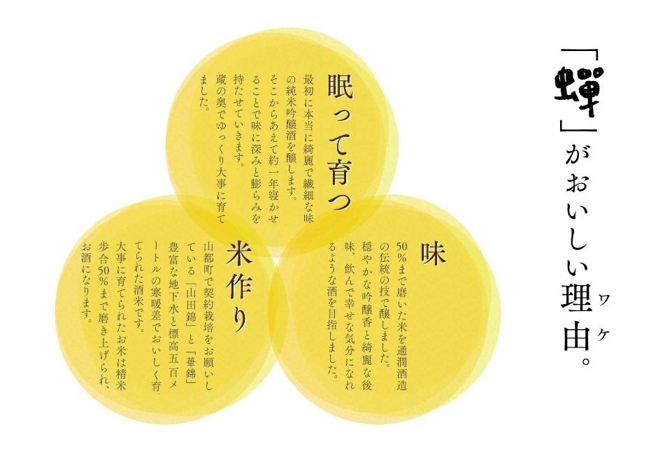 純米吟醸酒 蝉 画像5