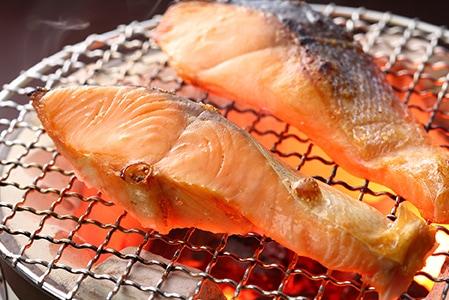 紅鮭切身 2切れ