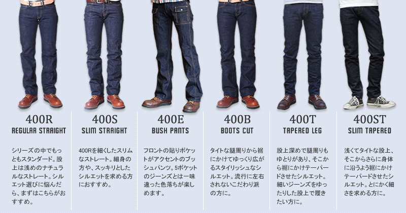 UES JEANS LINE UP