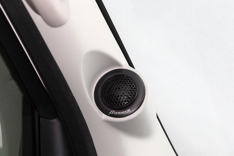 ユーアイビークル/UIvehicle NV350 キャラバン Aピラーフロントスピーカーキット