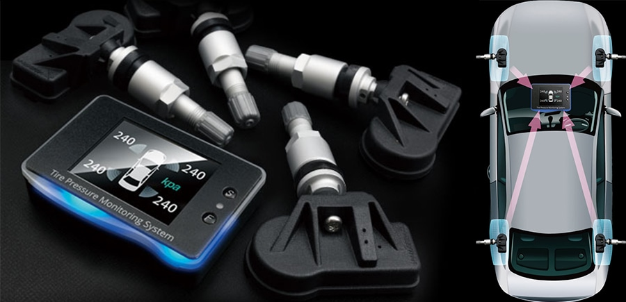 ユーアイビークル/UIvehicle ハイエース/HIACE タイヤ空気圧監視システム TPMS