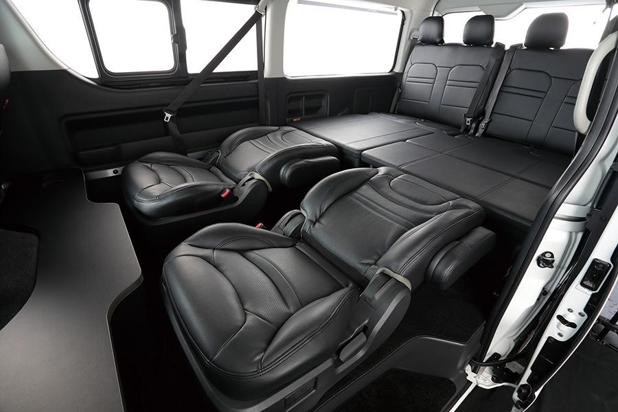 ユーアイビークル/UIvehicle ハイエース/HIACE コンプリートカー:ワゴン GL RX パッケージ ベッドキット