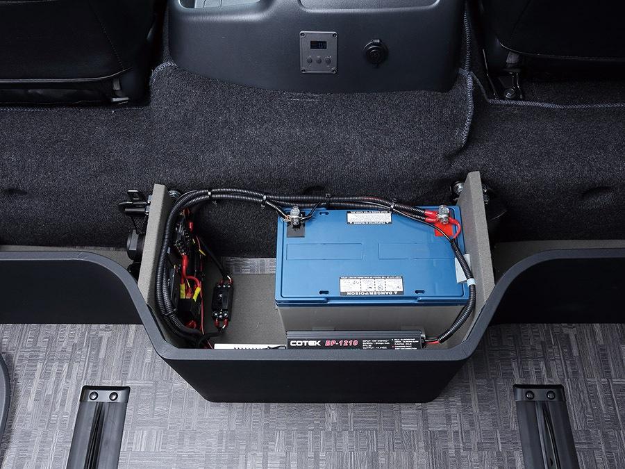 ユーアイビークル/UIvehicle ハイエース/HIACE コンプリートカー:ワゴン GL RX パッケージ サブバッテリー