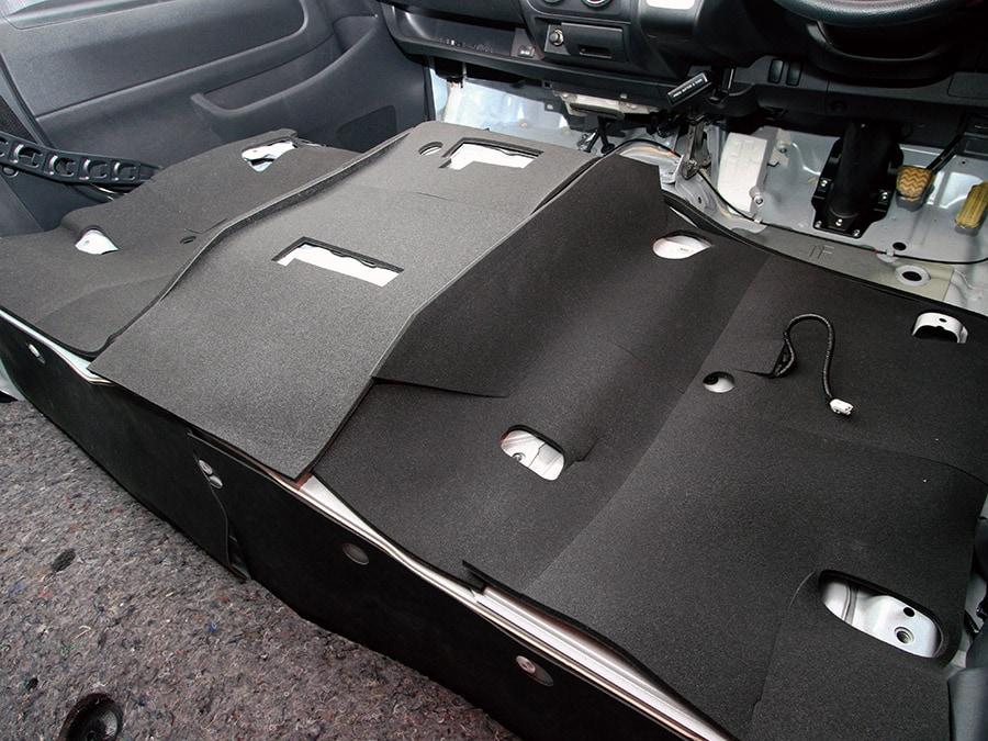 ユーアイビークル/UIvehicle ハイエース/HIACE コンプリートカー:ワゴン GL RX パッケージ フェリソニ防音材