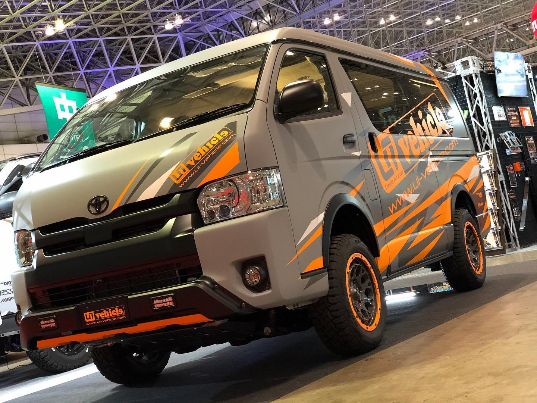 ユーアイビークル 東京オートサロン2020 トレックエース 3インチリフトアップカー