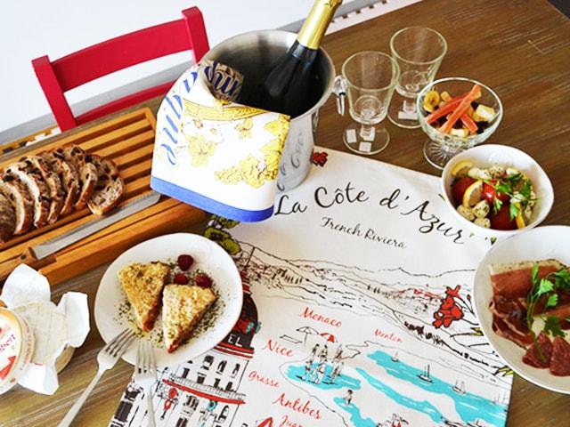 ティータオルをテーブルクロスや食器の水切りに。おしゃれなフランス製ティータオルの使い方と通販