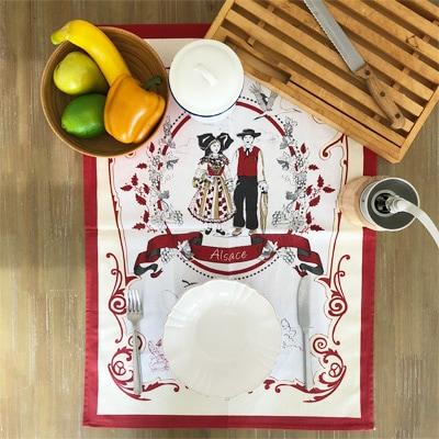 フランス雑貨,アルザス雑貨,ティータオル,アルザス民族衣装