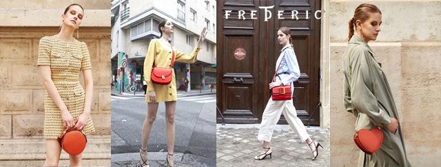 フランス人デザイナー・フレデリック・テーのレザーバッグ通販。フランス雑貨通販ラメゾンドレイル
