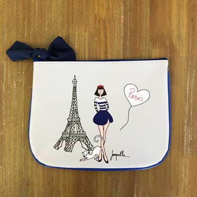 ポーチかわいい,BIRDIEフランス,フランス雑貨はラメゾンドレイル