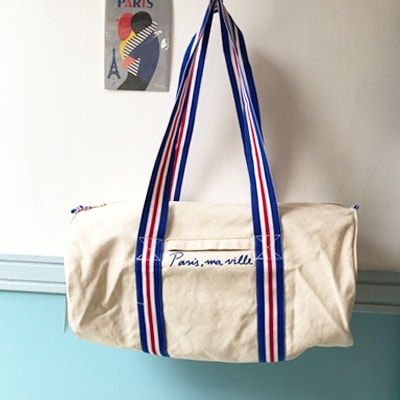 スポーツバッグバッグかわいい,BIRDIEフランス,フランス雑貨はラメゾンドレイル