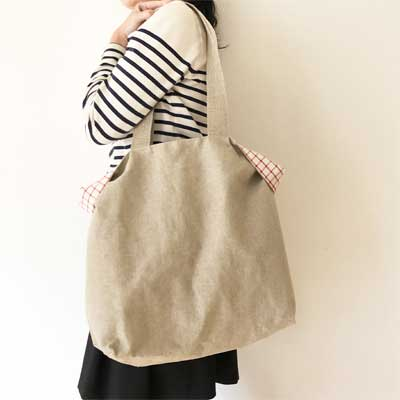 フランスブランドのリネントートバッグは軽くて丈夫。しかもかわいい。通販はこちら