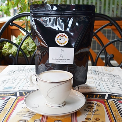 横浜山手の自家焙煎珈琲・カフェオレ専用コーヒー豆ラメゾンドレイルを通販でお届けします