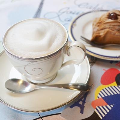 横浜フランス雑貨店のカフェオレ専用コーヒー豆ラ・メゾン・ド・レイル