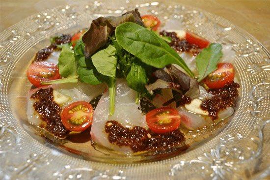 真鯛のカルパッチョレシピ