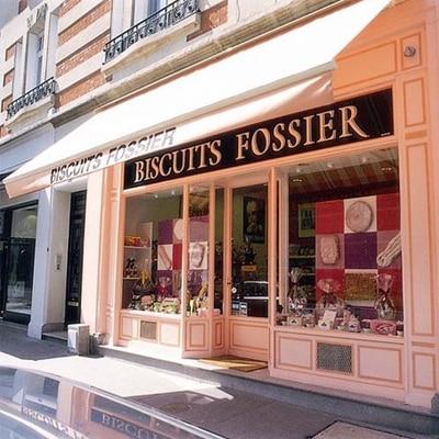 フランス輸入菓子のフォシェ・シャンパン入りのクッキー。フランス雑貨と一緒にギフトセットにもおすすめです