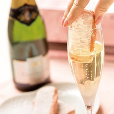 フランス輸入菓子の通販はフランス雑貨店ラメゾンドレイル。ビスキュイロゼはワインやシャンパンに浸して食べるお菓子です