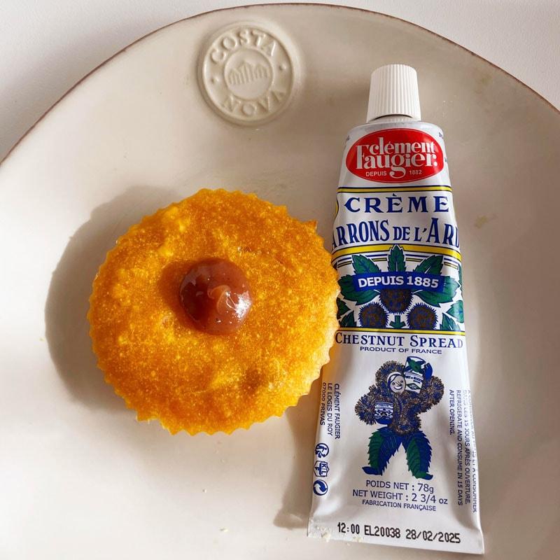 フランスの食品メーカー・クレマンフォジェのマロンクリーム・チューブ78グラムの通販。横浜山手フランス雑貨ラメゾンドレイル公式通販