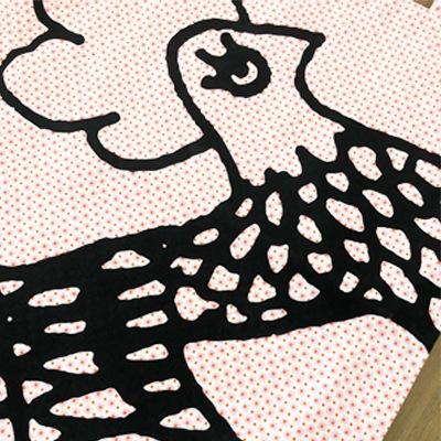 フランス雑貨のラメゾンドレイル,リバーシブルトートバッグ,フレンチトートバッグ