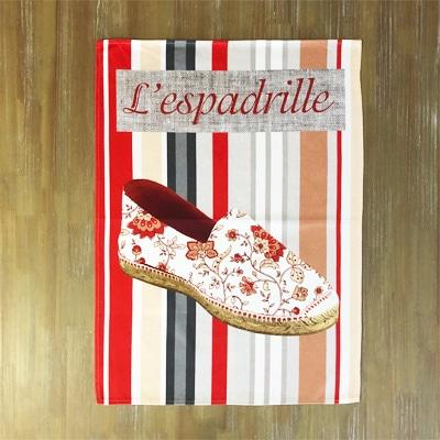 フランス雑貨のラメゾンドレイル,ティータオル水切り,ティータオルリメイク