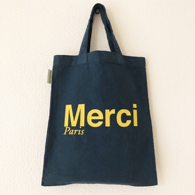 フランス雑貨のラメゾンドレイル,MERCIトートバッグ,フランスバッグ,トートバッグ
