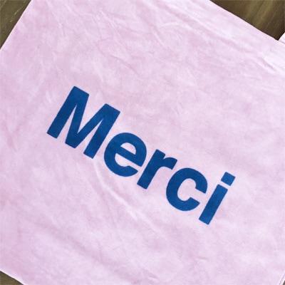 パリのセレクトショップ「Merci」のトートバッグ,フランス雑貨のラメゾンドレイル