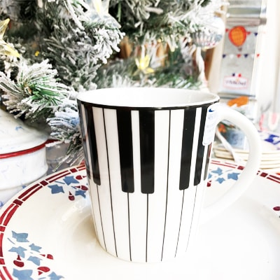 ピアノのマグカップ,ピアノマグ,かわいいマグカップ