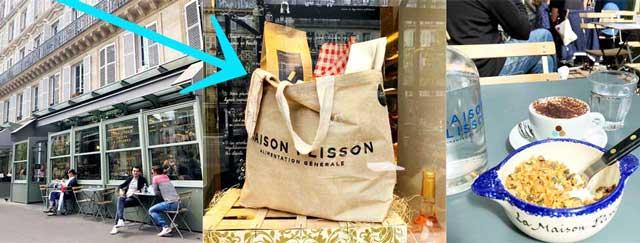 フランスの高級食材店メゾンプリソンのトートバッグ