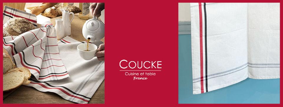 クーケ・リネンキッチンクロスとティータオル通販。お手拭きやお皿拭きにおすすめ。フランス雑貨公式通販ラメゾンドレイル