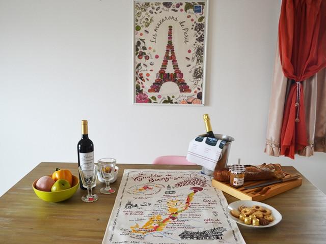 ティータオル,ワイングッズ,フランス雑貨