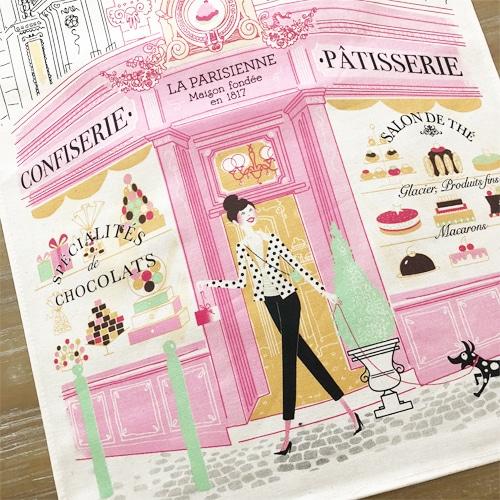 フランス雑貨,パティスリーティータオル