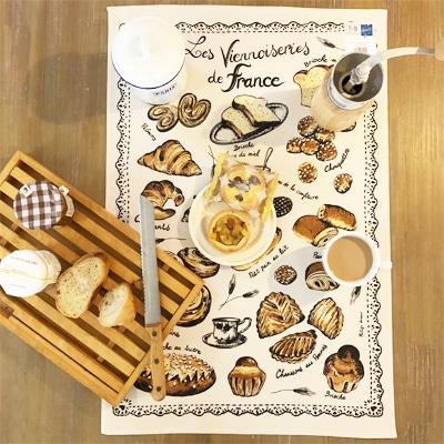 フランス雑貨,ティータオル,ヴィエノワズリー