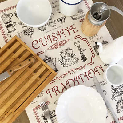 ティータオル専門店のラメゾンドレイル,おしゃれなフランス雑貨,おすすめのフランス雑貨