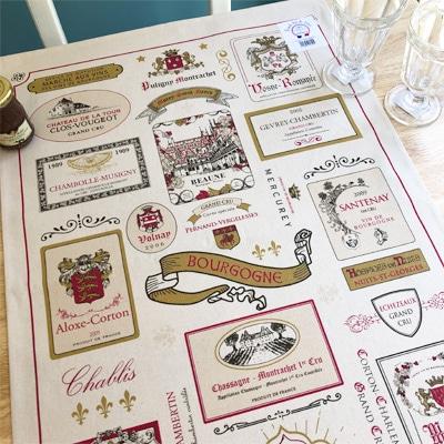 フランス雑貨のラメゾンドレイル,ワイングッズ,フランスワインティータオル
