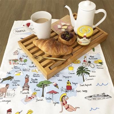 ティータオルの通販ページ。フランス製ティータオルやトーションを直輸入