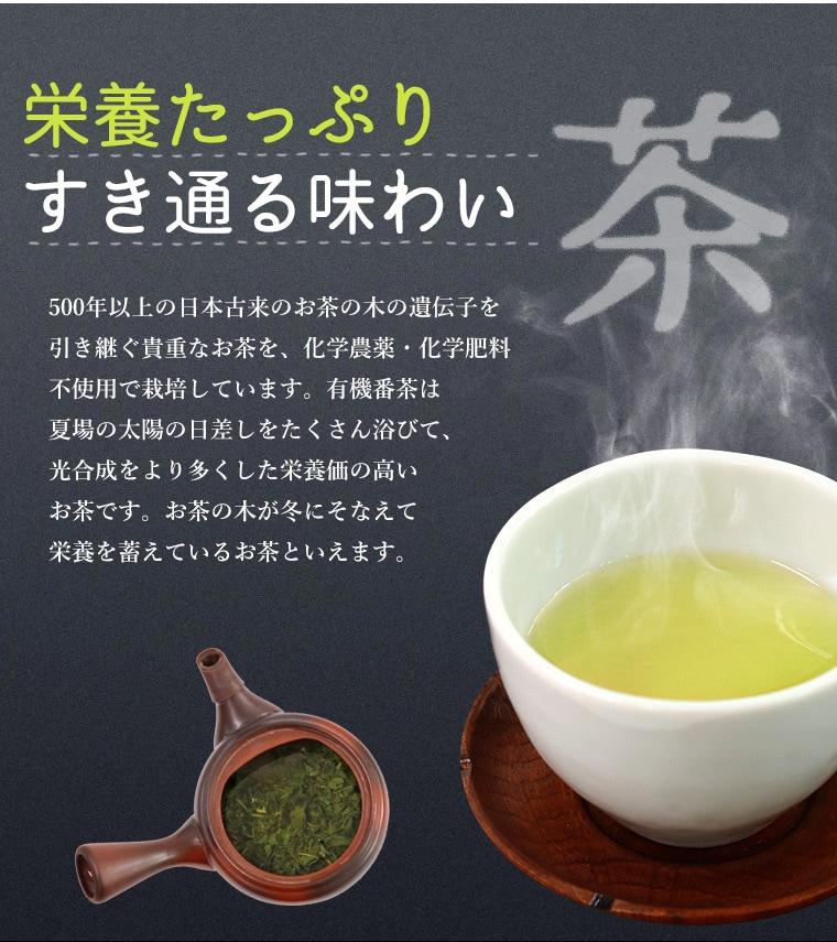美味しい無農薬のn番茶