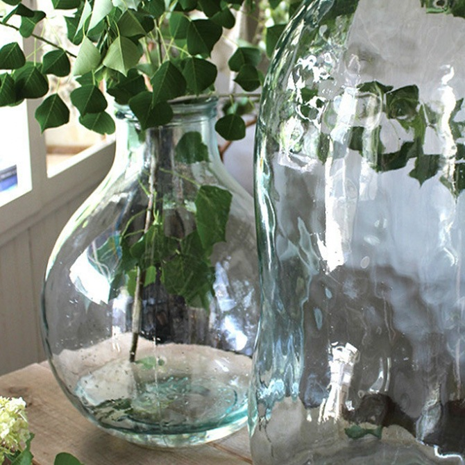 VALENCIA RECYCLE GLASS バレンシア リサイクル ガラス TRES