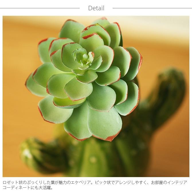 Brown. ブラウン フェイクグリーン エケベリア ピック 12  観葉植物 フェイクグリーン イミテーションフラワー 造花 ディスプレイ ボタニカル 植物 多肉植物 インテリア おしゃれ