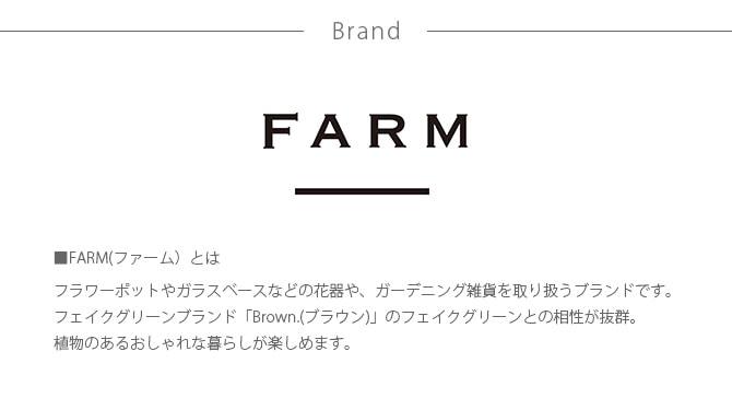 FARM ファーム ポットカバー グルレ 13  観葉植物 フェイクグリーン 鉢カバー ポットカバー ディスプレイ ボタニカル 植物 多肉植物 インテリア おしゃれ