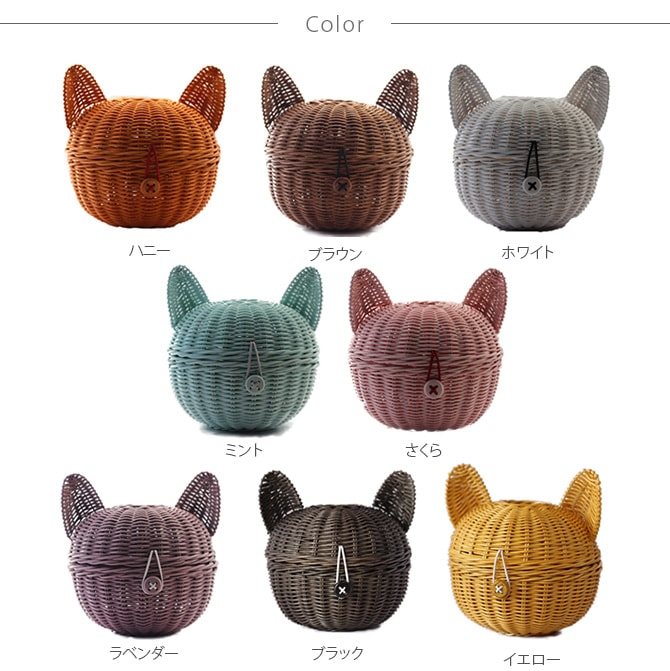 ラタン ねこロール  ペーパーホルダー トイレットペーパー ロールペーパー 籐 雑貨 ペーパーケース 猫 犬 ペット トイレ