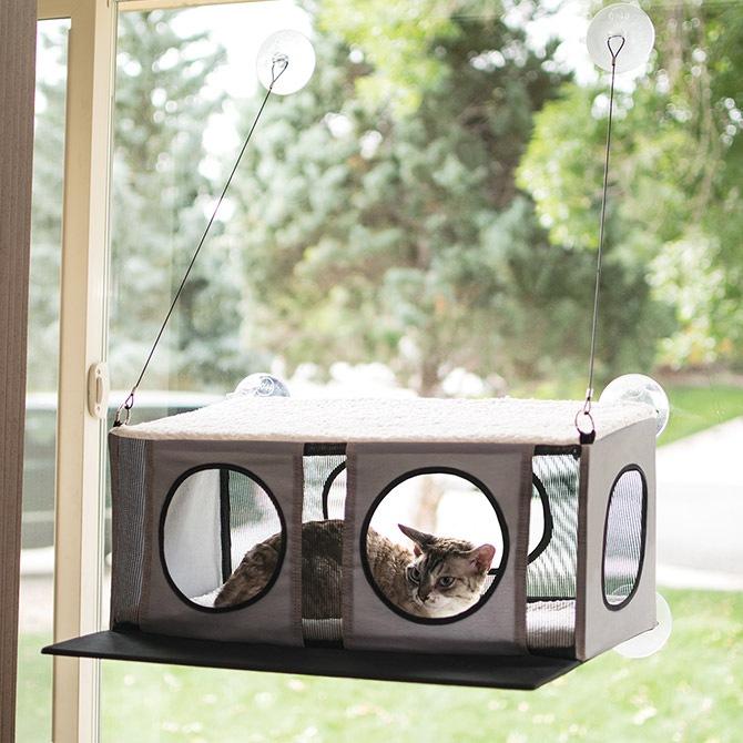 キャットハウス 窓貼りタイプ EZ MOUNT PENTHOUSE
