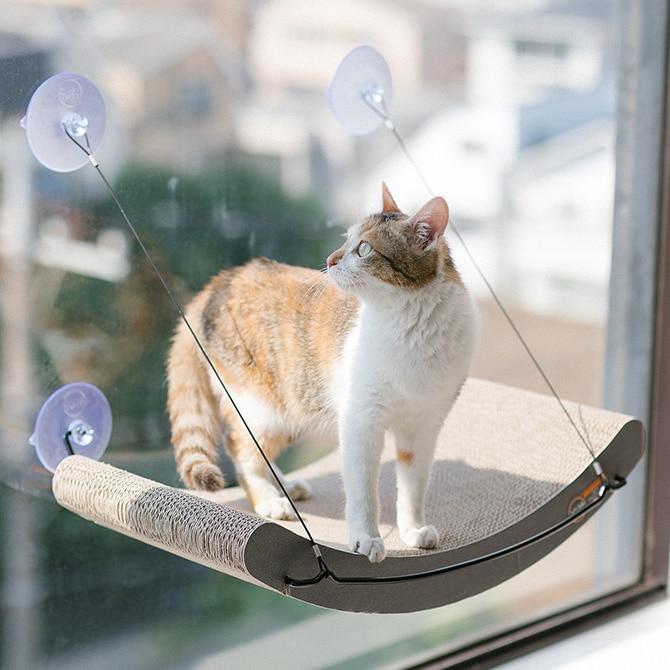 キャットハウス 窓貼りタイプ EZ MOUNT KITTY STILL CRADLE