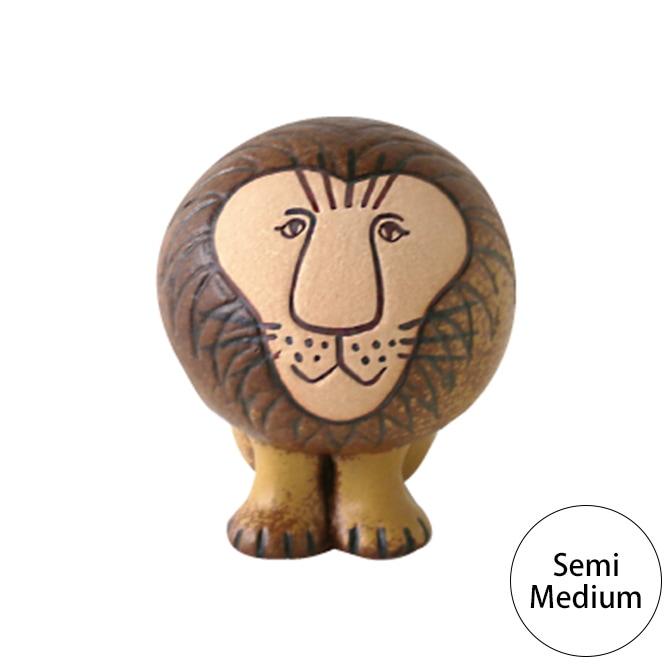 LISA LARSON リサ・ラーソン ライオン セミミディアム  LION 置物 リサラーソン 動物 ライオンシリーズ インテリア雑貨