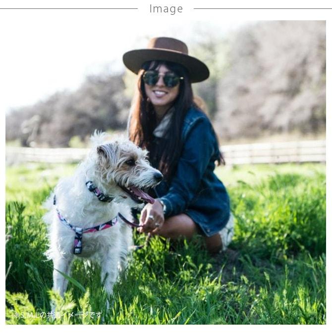 WOLFGANG ウルフギャング Harness 犬用ハーネス M(41-61cm)  犬用ハーネス ハーネス 中型犬 犬 イヌ ペット おしゃれ 散歩 お出かけ メンズライク