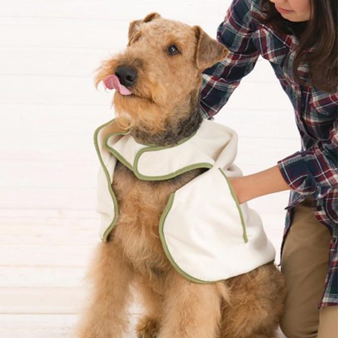 TALL TAILS トール テイルズ マイクロファイバー ケープタオル  ペット用タオル 犬用 おしゃれ マイクロファイバー ケープ ギフト 犬用品 犬 イヌ ペットグッズ
